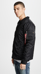 Куртка Alpha Industries Coaches Jacket (Черная)