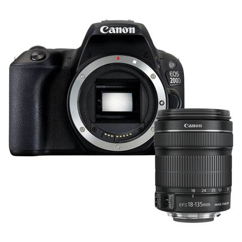 Canon EOS 200D Kit 18-135mm IS