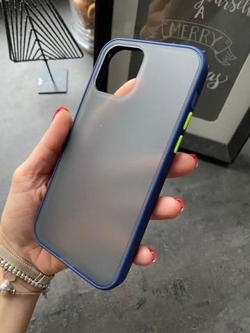 Чехол iPhone 12 /5,4''/ Gingle series /blue green/