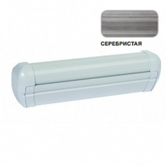 Маркиза настенная с мех.приводом DOMETIC Premium DA2035, цв.корп.-белый, ткани-серебро, Ш=3,55м