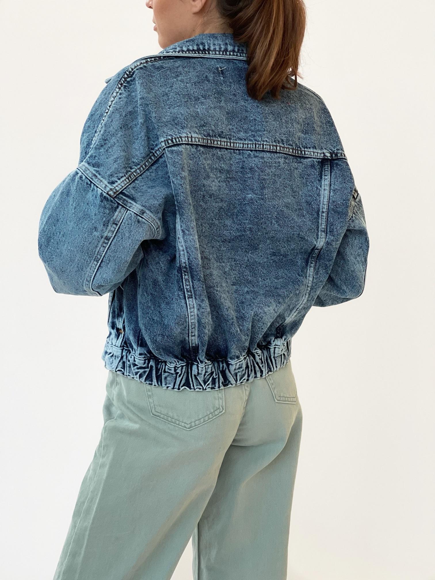 Джинсовая куртка, UNO, 6443 (небесный)