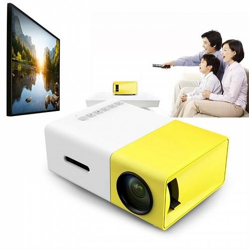 Гаджеты и hi-tech аксессуары Мини-проектор Led Projector YG 300 6444d106597cf44b2f3b84896f6bcedd.jpg