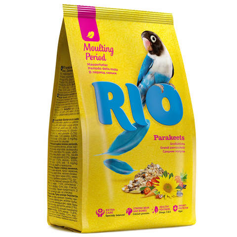 RIO Паракитс для средних попугаев в период линьки