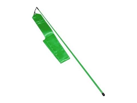 Лента гимнастическая. Цвет зелёный: АВ228