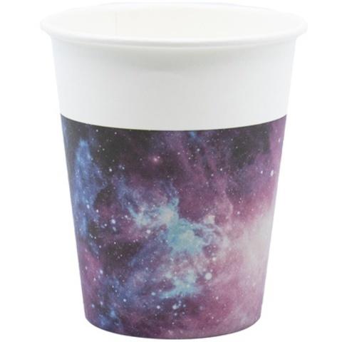 Стакан бум Галактика 200мл 8шт