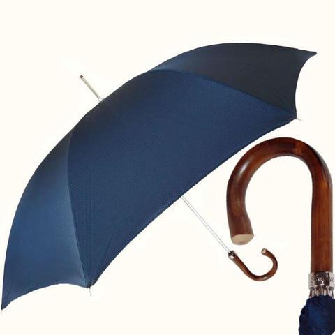 синий классический мужской зонт