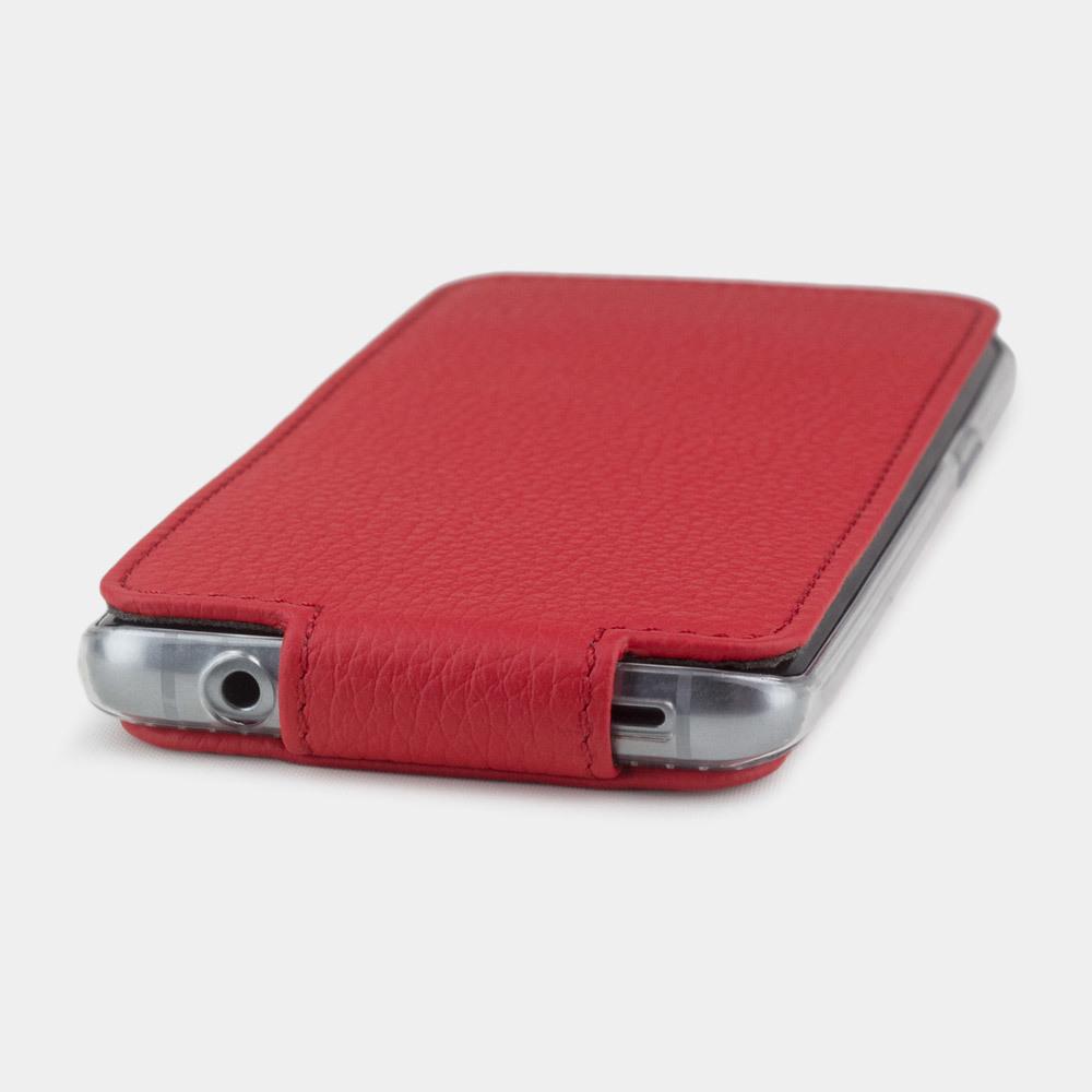 Чехол для Samsung Galaxy S9 Plus из натуральной кожи теленка, красного цвета
