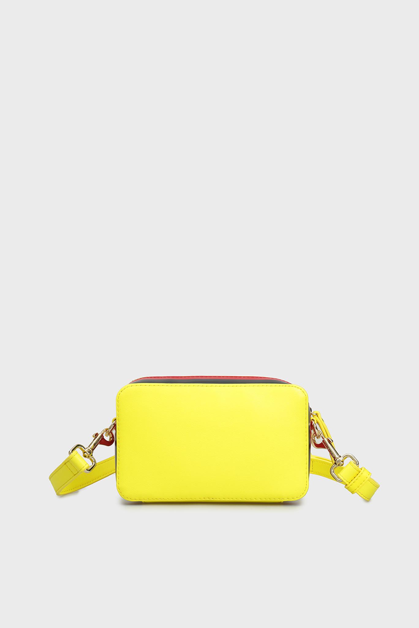 Женская желтая сумка через плечо TH CORPORATE Tommy Hilfiger