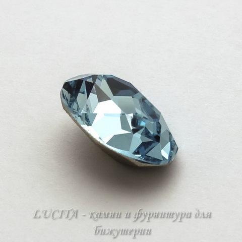 4120 Ювелирные стразы Сваровски Aquamarine (18х13 мм) ()