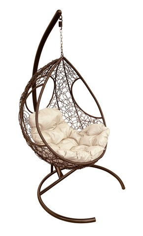 Кресло подвесное Ferrol brown/beige