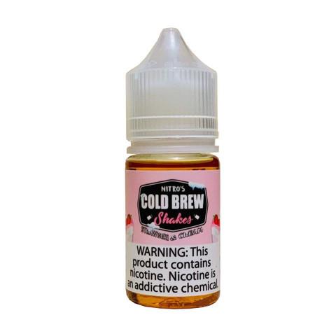 Жидкость Nitro`s Cold Brew Shakes Salt 30 мл Strawberi & Cream