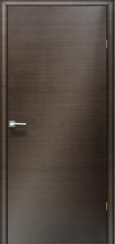 Дверь Ника 2 ПГ (венге, глухая шпонированная), фабрика LiGa