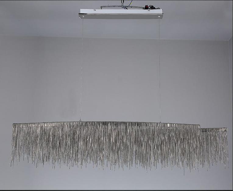 Подвесной светильник Waterfall by Light Room L150 (серебряный)