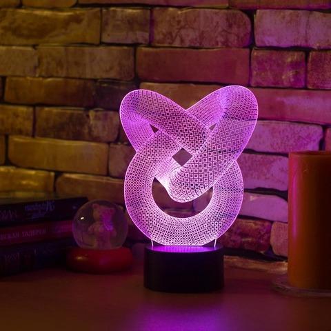 3D светильник Абстракция #2