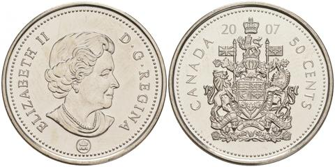 50 центов 2007 года UNC