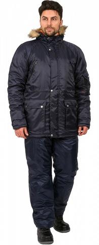 Куртка Аляска(тк.Оксфорд) , т.синий