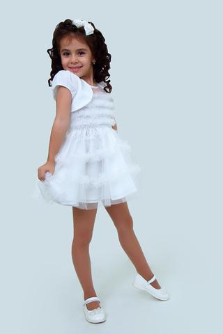 Платье детское + болеро (артикул 1Н56-4)