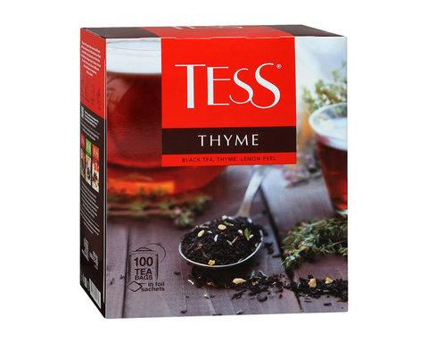купить Чай черный в пакетиках Tess Thyme 100 пак/уп, 1,5 г