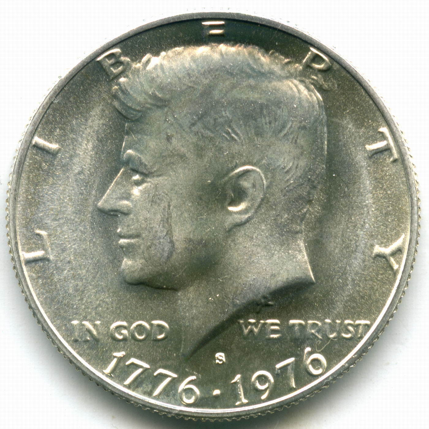 1/2  доллара 1976 (S). США