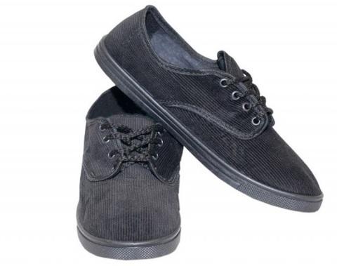 Туфли вельветовые на шнурках Step (1-23-1)