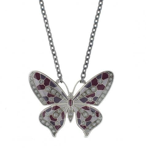 Колье бабочка B28147.17.C V