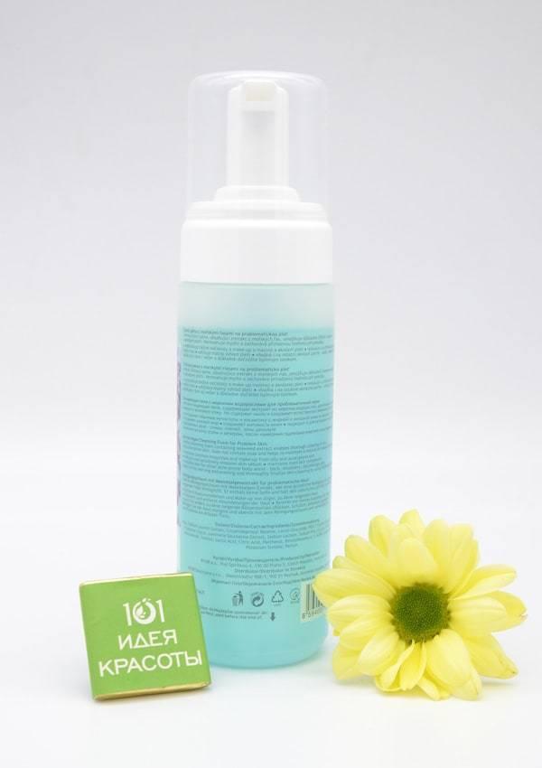 Ryor Aknestop Очищающая пенка для лица с морскими водорослями для проблемной кожи, 150мл