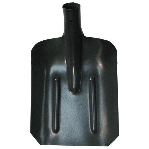 Лопата совковая 27x21.5 см усиленная с порошковой окраской и ребрами жесткости без черенка