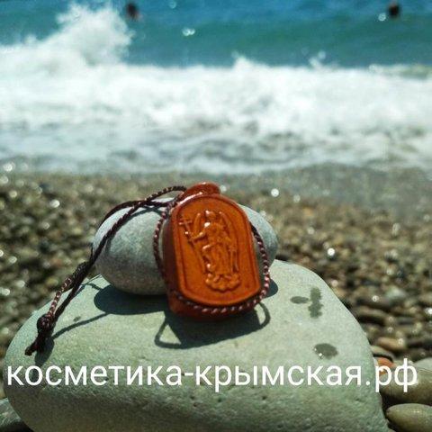 Аромакулон ручной работы «Ладанка – Михаил»