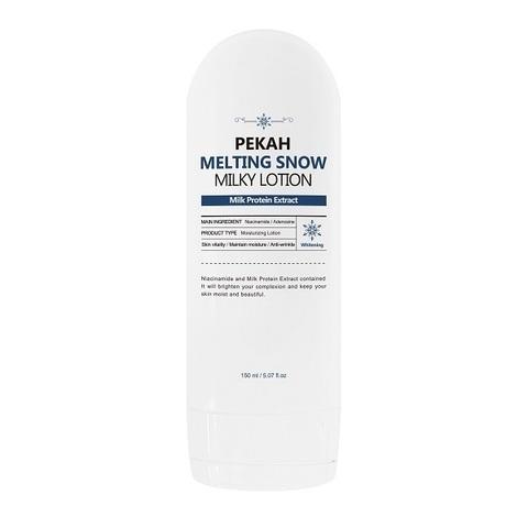 Pekah Осветляющий крем-лосьон для лица Melting Snow Milky Lotion, 150ml