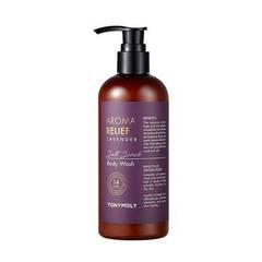 Скраб-гель для душа TONYMOLY Aroma Relief Lavender Salt Scrub Body Wash 300ml