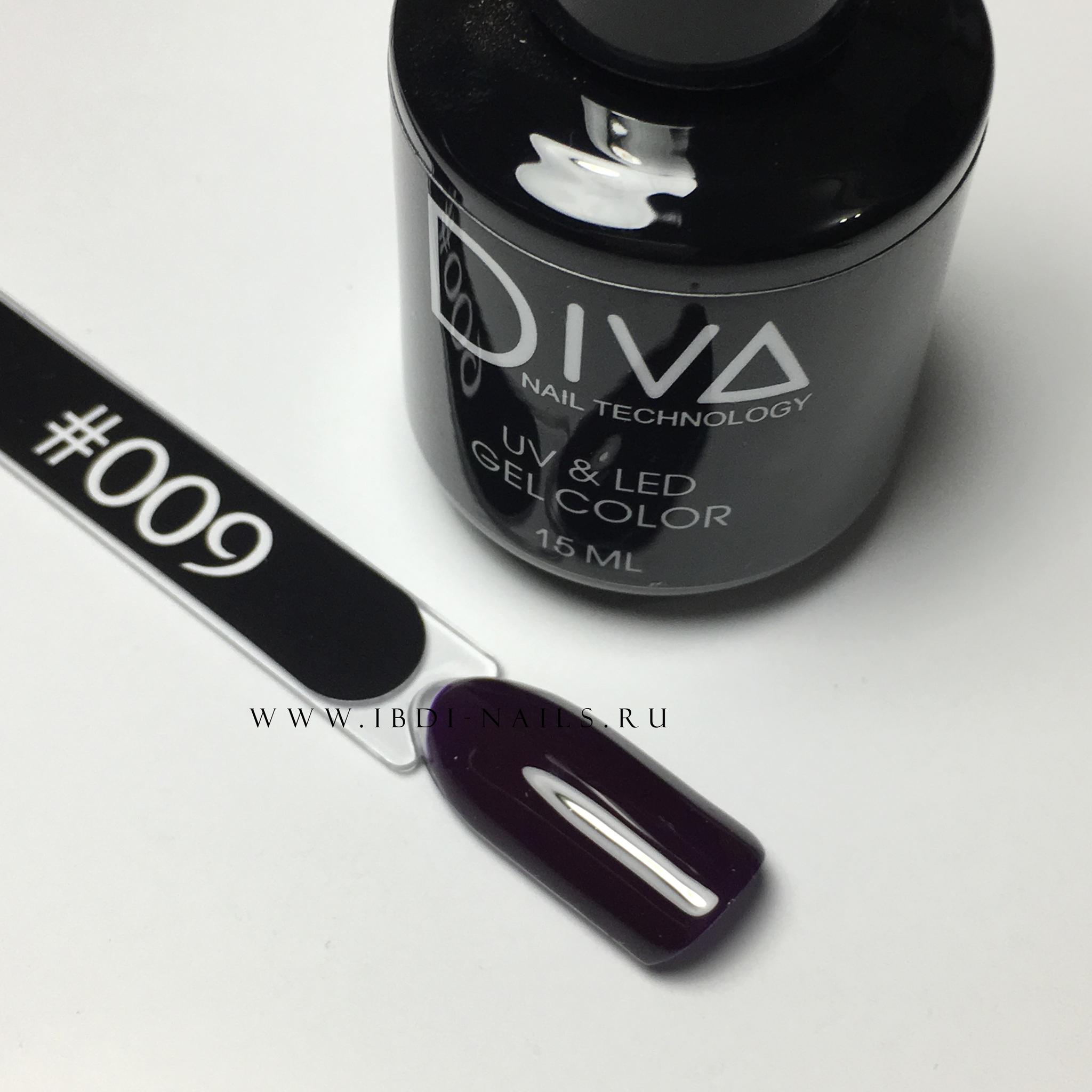 Гель-лак DIVA 009 15мл