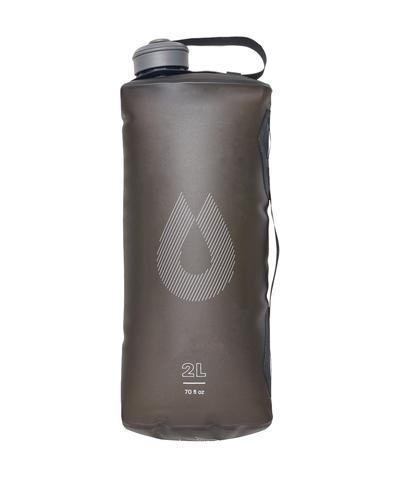 Мягкая канистра для воды HydraPak Seeker (2 литра), серая