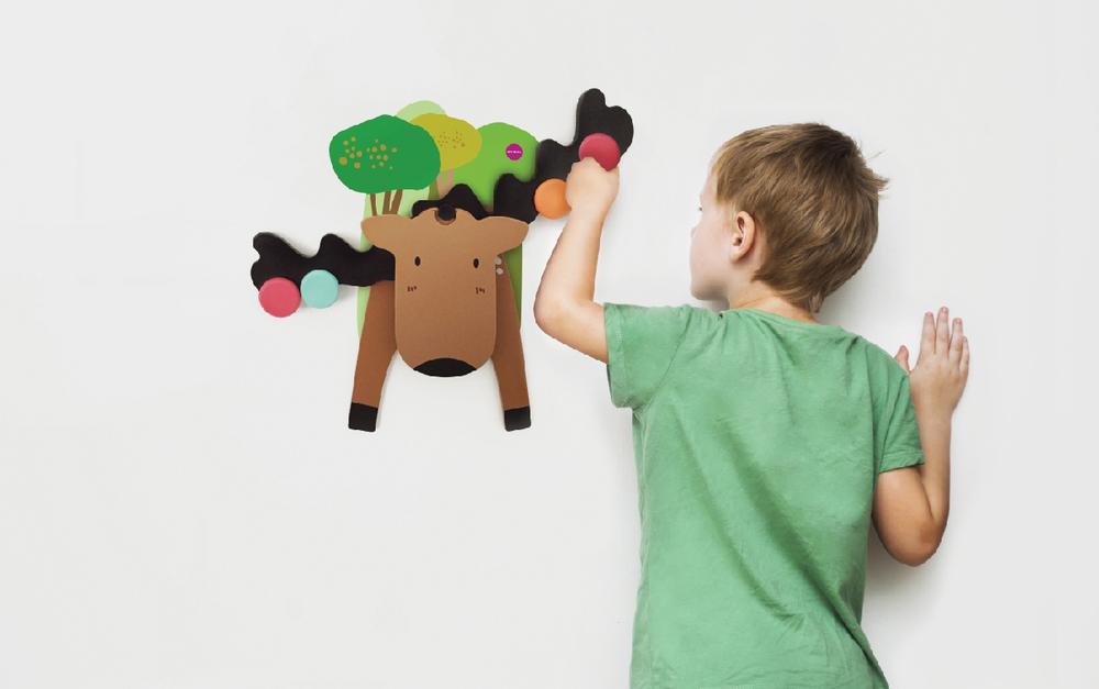 Vertiplay Игрушка на стену- Игра на баланс Лось Гуфи