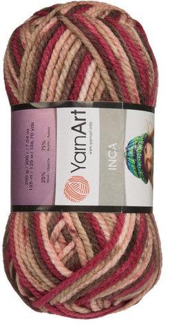 Inca (25%-шерсть 75%-акрил, 200гр/125м)