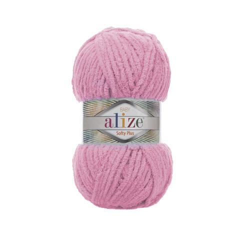 Купить Пряжа Alize Softy Plus Цвет 185 Розовый   Интернет-магазин пряжи «Пряха»