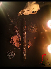 Свеча ритуал «На Силу»