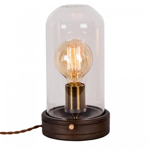 Настольная Лампа Ситилюкс CL450801 Эдисон Венге/Бронза