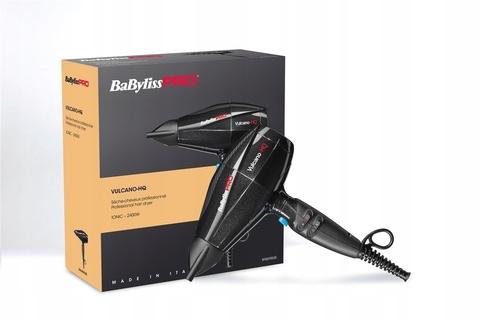 Фен BaByliss Pro Excess, 2600 Вт, ионизация, 2 насадки, черный