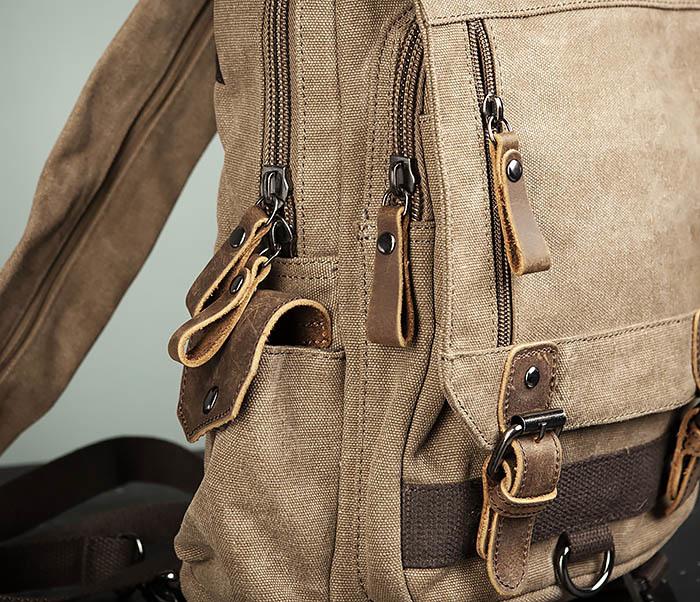 BAG476-2 Городской повседневный рюкзак с USB зарядкой фото 03