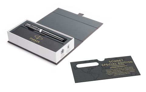 Перьевая ручка Parker Sonnet Special Edition 2018 Metro Black CT123