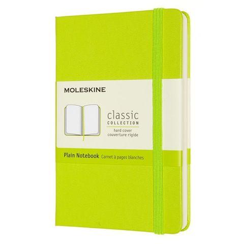 Блокнот Moleskine Classic QP012C2 Pocket 90x140мм PP 192стр. нелинованный твердая обложка лайм