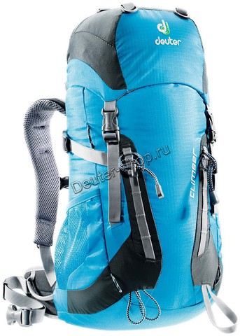 Картинка рюкзак туристический Deuter Climber Turquoise-Granite - 1