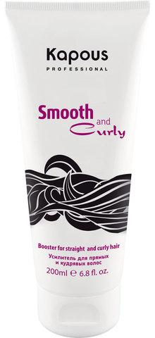 Усилитель для прямых и кудрявых волос Amplifier ,Kapous Smooth And Curly,200 мл
