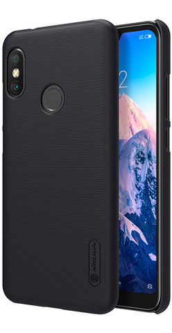 Накладка Nillkin Frosted Shield пластиковая для Xiaomi Mi А2 Lite Черная