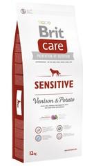Беззерновой корм для собак, Brit Care Sensitive Venison, с олениной и картофелем