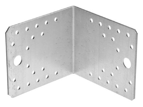 Уголок крепежный УК-2.5, 65х90х90 х 2.5мм, ЗУБР