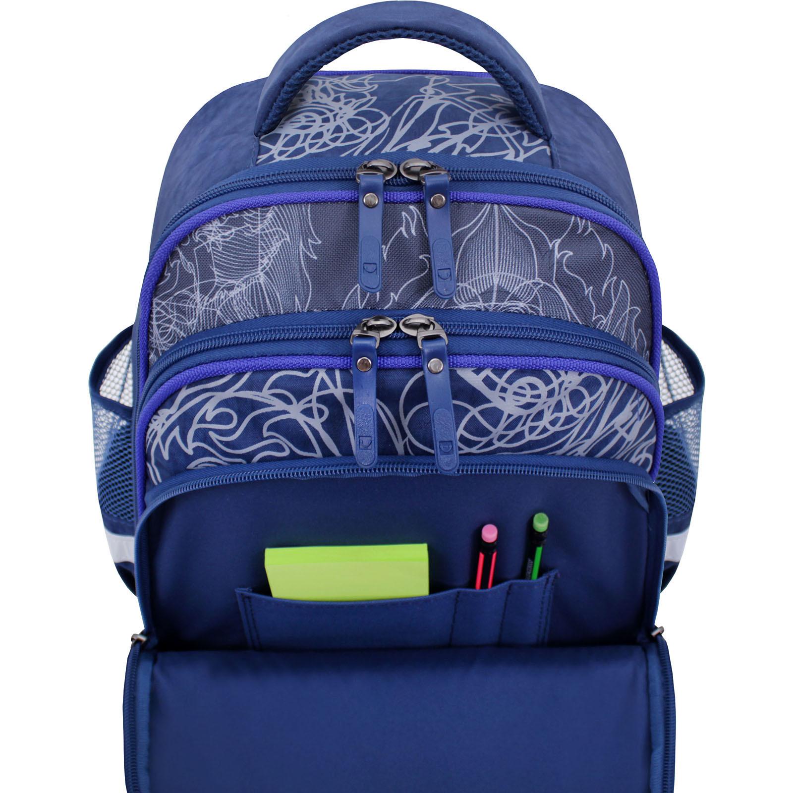 Рюкзак школьный Bagland Mouse 225 синий 506 (0051370) фото 4