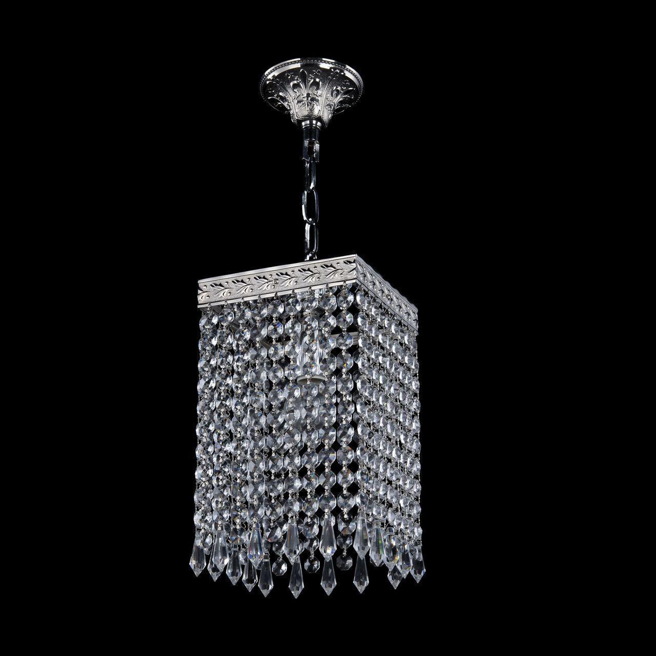Подвесной светильник Bohemia Ivele 19202/15IV Ni Drops