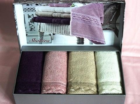 Набор махровых салфеток SHAKIRA  ШАКИРА 30х50 Maison Dor (Турция)