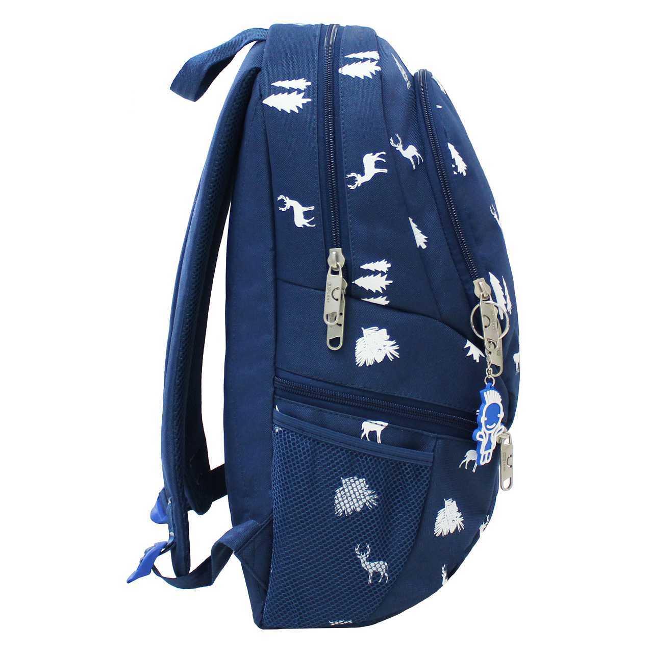Рюкзак Bagland Urban синій/олені 0053066 фото 2